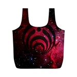 Bassnectar Galaxy Nebula Full Print Recycle Bags (M)  Back