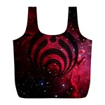 Bassnectar Galaxy Nebula Full Print Recycle Bags (L)  Back
