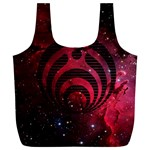Bassnectar Galaxy Nebula Full Print Recycle Bags (L)  Front