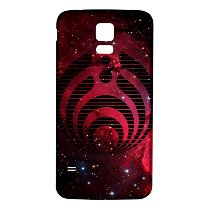 Bassnectar Galaxy Nebula Samsung Galaxy S5 Back Case (White)
