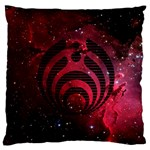 Bassnectar Galaxy Nebula Standard Flano Cushion Case (Two Sides) Back
