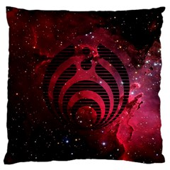 Bassnectar Galaxy Nebula Large Flano Cushion Case (Two Sides)