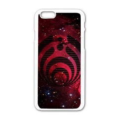 Bassnectar Galaxy Nebula Apple iPhone 6/6S White Enamel Case