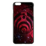 Bassnectar Galaxy Nebula Apple iPhone 6 Plus/6S Plus Black Enamel Case Front