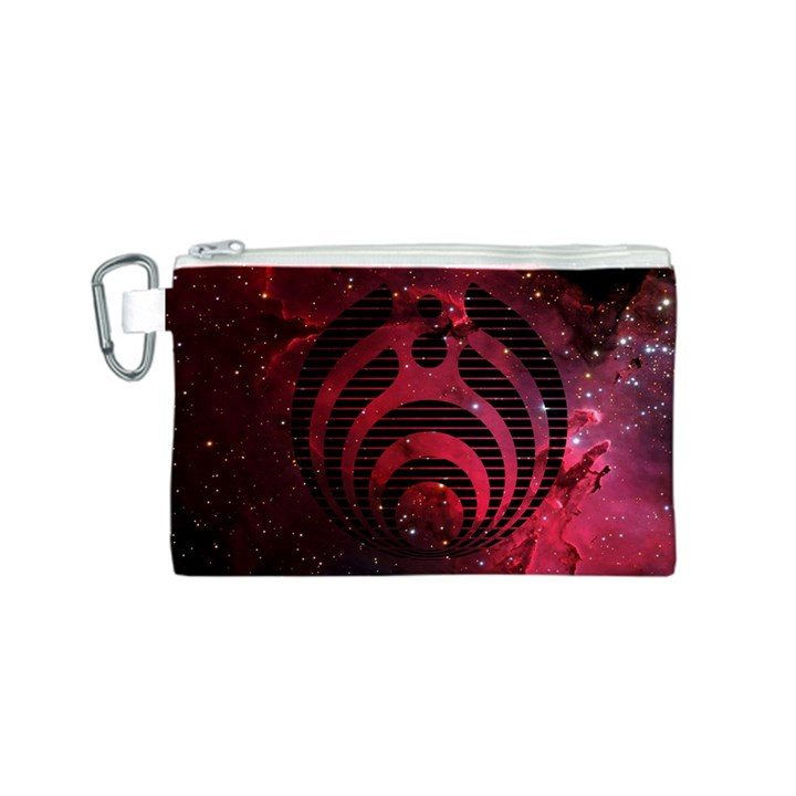 Bassnectar Galaxy Nebula Canvas Cosmetic Bag (S)
