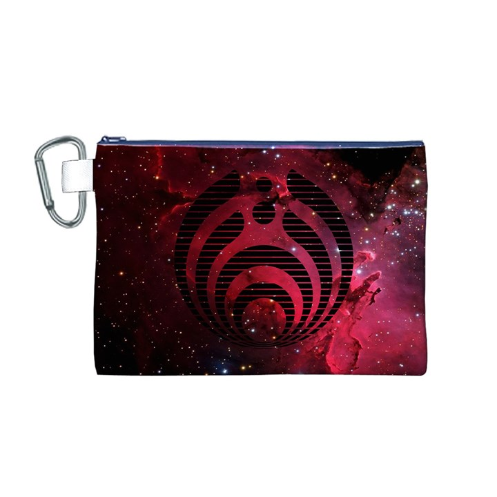 Bassnectar Galaxy Nebula Canvas Cosmetic Bag (M)