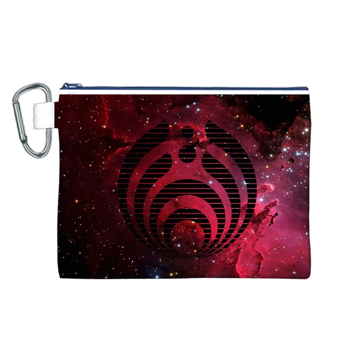 Bassnectar Galaxy Nebula Canvas Cosmetic Bag (L)