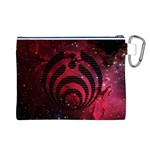 Bassnectar Galaxy Nebula Canvas Cosmetic Bag (L) Back