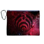 Bassnectar Galaxy Nebula Canvas Cosmetic Bag (XL) Front