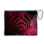 Bassnectar Galaxy Nebula Canvas Cosmetic Bag (XL) Back