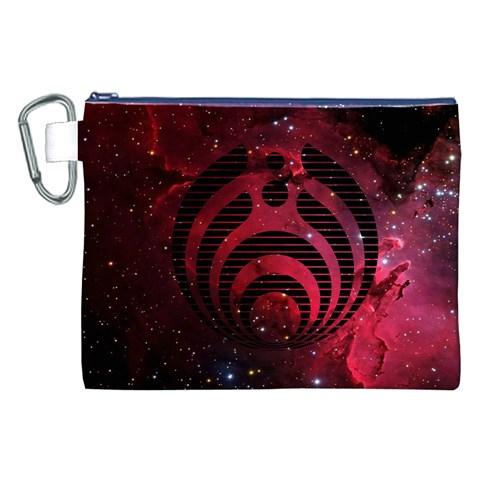 Bassnectar Galaxy Nebula Canvas Cosmetic Bag (XXL)