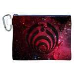 Bassnectar Galaxy Nebula Canvas Cosmetic Bag (XXL) Front