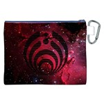 Bassnectar Galaxy Nebula Canvas Cosmetic Bag (XXL) Back