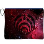 Bassnectar Galaxy Nebula Canvas Cosmetic Bag (XXXL) Front