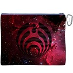 Bassnectar Galaxy Nebula Canvas Cosmetic Bag (XXXL) Back