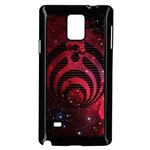 Bassnectar Galaxy Nebula Samsung Galaxy Note 4 Case (Black) Front