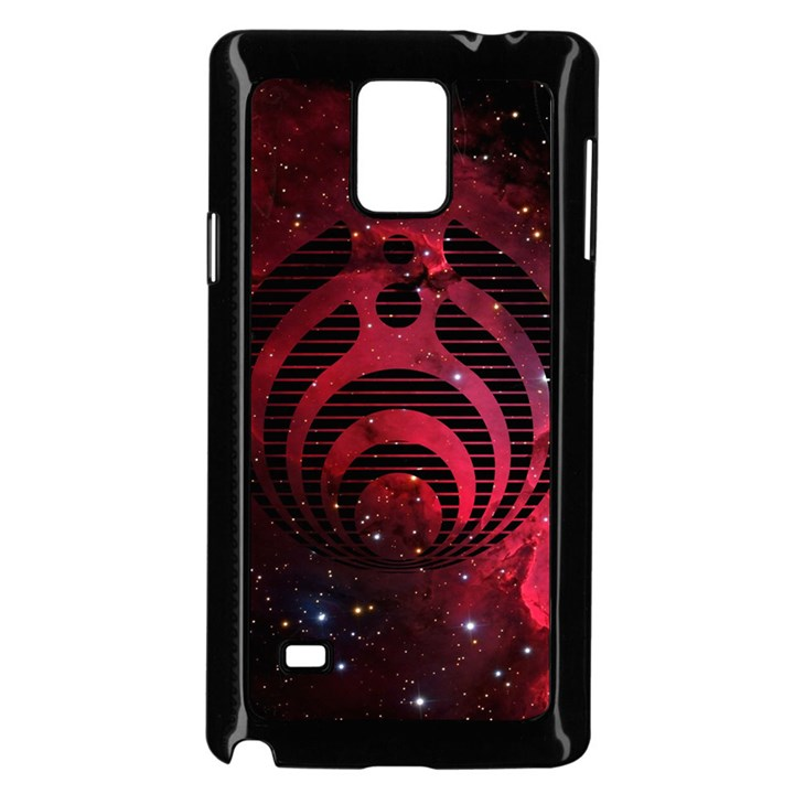Bassnectar Galaxy Nebula Samsung Galaxy Note 4 Case (Black)