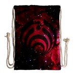 Bassnectar Galaxy Nebula Drawstring Bag (Large) Back