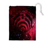 Bassnectar Galaxy Nebula Drawstring Pouches (Extra Large) Front