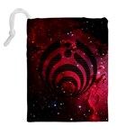 Bassnectar Galaxy Nebula Drawstring Pouches (Extra Large) Back