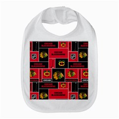 Chicago Blackhawks Nhl Block Fleece Fabric Bib