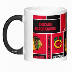 Chicago Blackhawks Nhl Block Fleece Fabric Morph Mugs