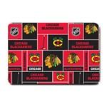 Chicago Blackhawks Nhl Block Fleece Fabric Small Doormat  24 x16 Door Mat - 1