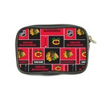 Chicago Blackhawks Nhl Block Fleece Fabric Coin Purse Back