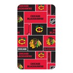 Chicago Blackhawks Nhl Block Fleece Fabric Memory Card Reader Front
