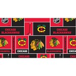 Chicago Blackhawks Nhl Block Fleece Fabric Magic Photo Cubes Long Side 1