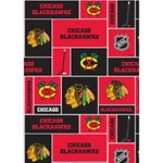 Chicago Blackhawks Nhl Block Fleece Fabric BOY 3D Greeting Card (7x5) Inside