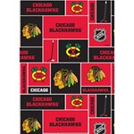 Chicago Blackhawks Nhl Block Fleece Fabric Circle 3D Greeting Card (7x5) Inside