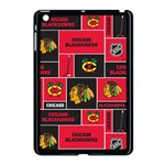 Chicago Blackhawks Nhl Block Fleece Fabric Apple iPad Mini Case (Black) Front