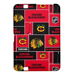 Chicago Blackhawks Nhl Block Fleece Fabric Kindle Fire Hd 8 9