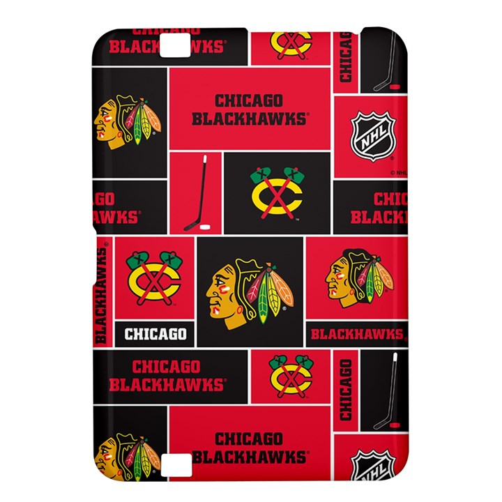 Chicago Blackhawks Nhl Block Fleece Fabric Kindle Fire HD 8.9