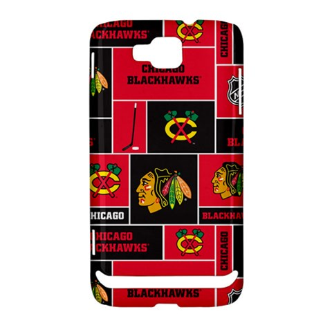 Chicago Blackhawks Nhl Block Fleece Fabric Samsung Ativ S i8750 Hardshell Case