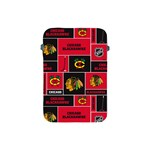 Chicago Blackhawks Nhl Block Fleece Fabric Apple iPad Mini Protective Soft Cases Front