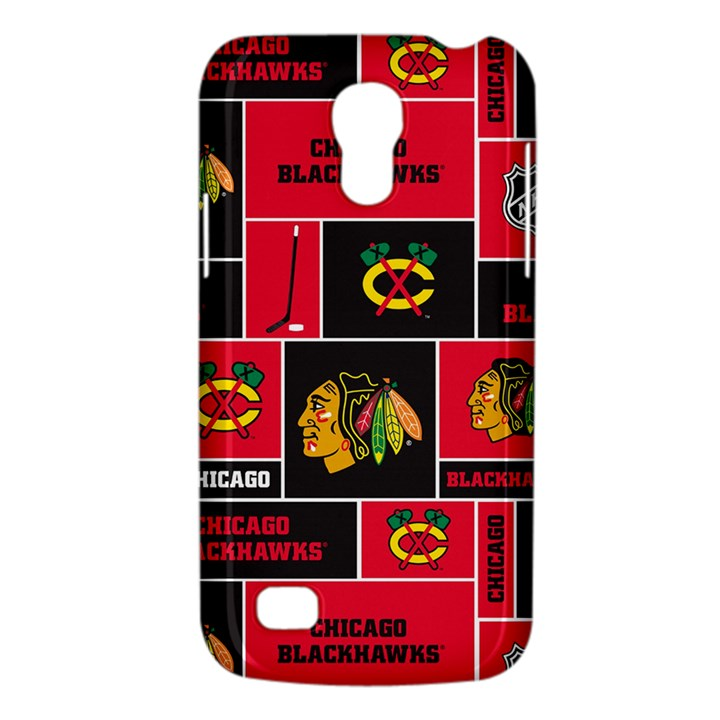Chicago Blackhawks Nhl Block Fleece Fabric Galaxy S4 Mini