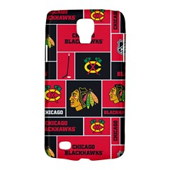 Chicago Blackhawks Nhl Block Fleece Fabric Galaxy S4 Active