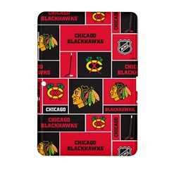 Chicago Blackhawks Nhl Block Fleece Fabric Samsung Galaxy Tab 2 (10.1 ) P5100 Hardshell Case