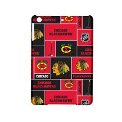 Chicago Blackhawks Nhl Block Fleece Fabric iPad Mini 2 Hardshell Cases