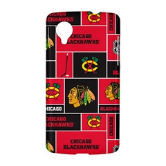 Chicago Blackhawks Nhl Block Fleece Fabric LG Nexus 5