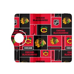 Chicago Blackhawks Nhl Block Fleece Fabric Kindle Fire Hdx 8 9  Flip 360 Case