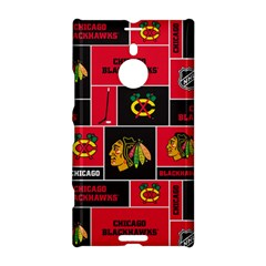 Chicago Blackhawks Nhl Block Fleece Fabric Nokia Lumia 1520