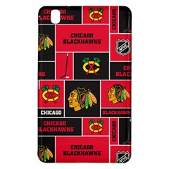 Chicago Blackhawks Nhl Block Fleece Fabric Samsung Galaxy Tab Pro 8 4 Hardshell Case