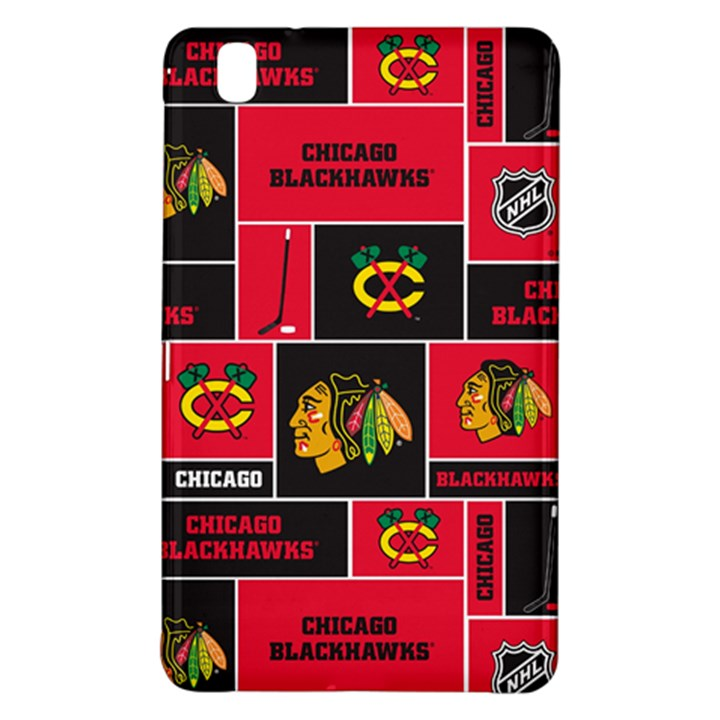 Chicago Blackhawks Nhl Block Fleece Fabric Samsung Galaxy Tab Pro 8.4 Hardshell Case