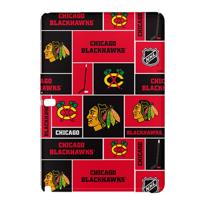 Chicago Blackhawks Nhl Block Fleece Fabric Samsung Galaxy Tab Pro 12.2 Hardshell Case