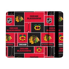 Chicago Blackhawks Nhl Block Fleece Fabric Samsung Galaxy Tab Pro 8.4  Flip Case