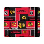 Chicago Blackhawks Nhl Block Fleece Fabric Samsung Galaxy Tab Pro 8.4  Flip Case Front