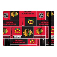 Chicago Blackhawks Nhl Block Fleece Fabric Samsung Galaxy Tab Pro 10.1  Flip Case